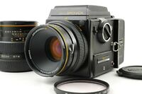 【EXC+5】 BRONICA SQ Waist Level + ZENZANON-S 80mm f2.8 150mm f3.5 Lens from Japan