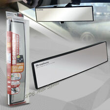 Broadway 300MM Wide Convex Interior Clip On Rear View Clear Mirror Universal 3