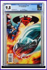 Superman Batman #58 CGC Graded 9.8 DC June 2009 White Pages Comic Book