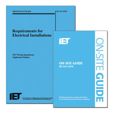 NICEIC 18th Edition Regs Book and On Site Guide