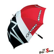 Alpinestars Schirm, Regenschirm, Umbrella in Weiß-Schwarz-Rot, 125cm groß