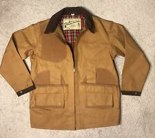 Vintage Bill Palmer'S Hunting Jacket Big Game Pocket Corduroy Collar Fishing Euc