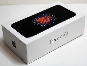Apple iPhone SE - 32GB - Space Gray (AT&T) A1662 (CDMA + GSM) New Other
