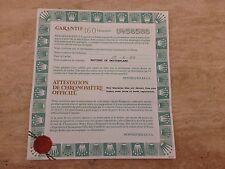 ROLEX 18ct & Steel Submariner 16613 Guarantee Papers 1998 UK