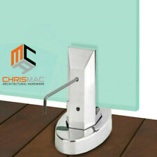 20% OFF ✔ Stainless Steel Spigot Glass Pool Spigots Balustrade Deck Fence Square