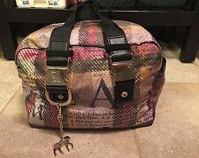 Gwen Stefani Lesportsac Plaid Toaster Purse Bag Handbag RARE Lamb