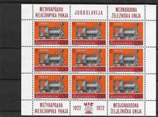 Topic Trains @ Yugoslavia  MNH @   pce122-696