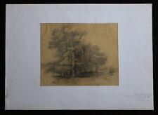 Benjamin ROUBAUD (1811-1847) Forêt de Fontainebleau Alger Daumier Grandville