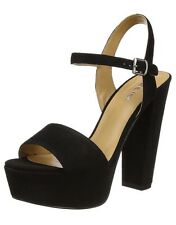 Nine West Carnation, Women's Heels Leather Sandals, 5 UK Wide 38 EU 7 US