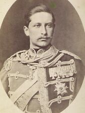 YOUNG EMPEROR WILHEM II Gorgeous Antique GERMAN PHOTO Beautiful! HISTORIC KAISER