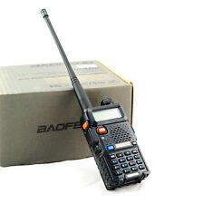 Portable UV-5R Dual-band Handheld Alarm VHF/UHF TwoWay Ham Radio Transceiver one