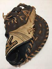 "Mizuno Flex Track Inlet Toe Para Shock Stitched Leather First Base Glove 12 50"""