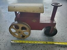 Vintage STEELCRAFT Steam Roller Childs Steerable Toy Original Murray OH
