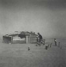 Arthur ROTHSTEIN: Dust Storm, Cimmaron County, 1936 / FSA / Silver Print / Stamp