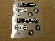 NOS OEM Ford 1992 SAAC Mustang MK1 Shelby Emblem Badge Kit Fox Body