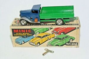 Triang Minic 10M Post-War Delivery Lorry, Restored in Original Box