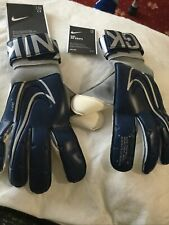 Nike Grip 3 Goalkeeper Gloves New in bag size 7 QUALITY in BLUE  box 41 mams