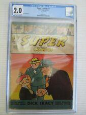SUPER COMICS #77 CGC GRADED 2.0 COMIC -- OCT 1944