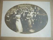 PHOTO  1900  MARIAGE VINTAGE