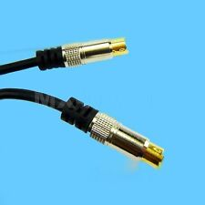 10' S-VIDEO SVIDEO SVHS CABLE FOR AV DVD HDTV CAMCORDER