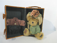 Boyds Bears Plush Penny Whistleby Uptown Collection Trunk Extra Sweater Hang Tag