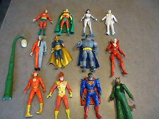 12pc lot action figure DC Comic direct superman batman ++
