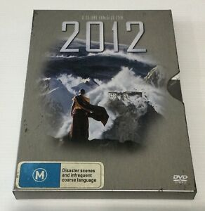 2012 Disaster Movie DVD In Collectors Tin