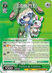 Weiss Schwarz Card Yoshino & Yoshinon - DAL/W79-E027S - SR