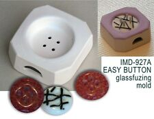 IMD-927A JEWELRY EASY BUTTON GLASS FUSING pod mold