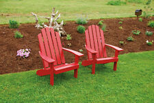 Outdoor Kennebunkport Adirondack Chair *8 Stain Colors* Amish Made USA