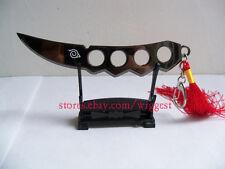 Naruto Shippuden Asuma Sarutobi Cosplay Chakra Kunai Key Chain Shelf Included