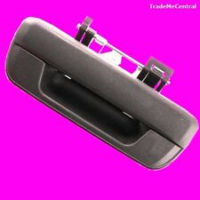 Holden Rodeo RA Outer Black Tailgate Tail Gate Rear Door Boot Handle Lock No Key
