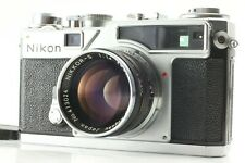 【Exc+4】Nikon SP 35mm Rangefinder Film Camera w/ Nikkor S 50mm f1.4 from Japan