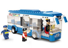 CITY BUS * 235 pcs * COMPATIBLE BRICKS * City Coach Car Road Airport Transport