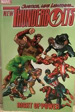 New Thunderbolts : Right of Power 2006 DC 1st Print TPB / OOP