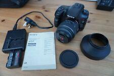 Sony Alpha A57 16.1MP Digital SLR Camera - Black (Kit w/ 18-55mm Lens)
