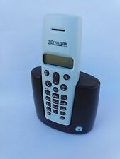 Telefono Cordless Geranio azzurro-Moka Telecom Nuovo