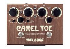 Way Huge WHE209 Camel Toe Triple Overdrive pedal