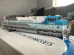 RARE Genesis SD70ACe UP 4141 ATHG04141 George Bush Union Pacific BNSF CSX NS CP