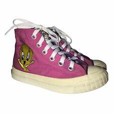 Rare Keds Looney Tunes Vintage 1993 Tweety Sneakers 10.5