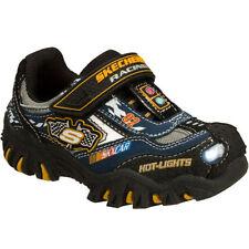 Scarpe nere con luci per bambini dai 2 ai 16 anni