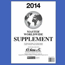 2014 H E Harris Master Worldwide Supplement for Statesman and Other Albums