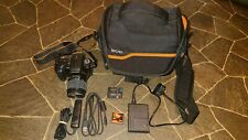 Sony alpha A350 DSLR Camera With 18-70 Lens 4gb Memory Card And Bag