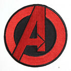 """Avengers/Agents of SHIELD TV Series 3.5"""" RED Logo Patch-FREE S&H (ASPA-019-R)"""