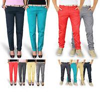 Trooper™ Raw Vintage ★ Chino Trousers Hose Damen / Herren Stoffhose Chinohose