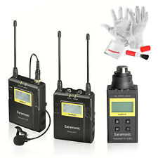 Saramonic UwMic9-TX-XLR9 Transmitter Phantom Power+ Microphone System For DSLR