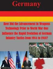 How Did the Advancement in Weapons Technology Prior to World War One...