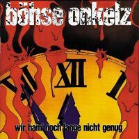 """BÖHSE ONKELZ """"WIR HAM NOCH LANGE NICHT GENUG"""" CD NEU !!"""