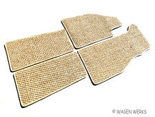 VW Bug Coco Mats - Bug 1960 to 1972 Tan/ Oatmeal