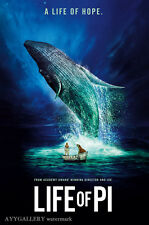 "Life Of Pi (A Life Of Hope) - Movie Poster 24""x36"" (Free Shipping)"